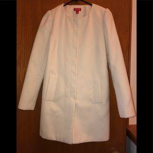 ELLE white pea coat